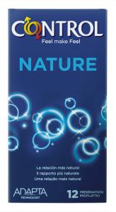 CONTROL Profilattici Natura Per il Piacere Personale 12 Pezzi