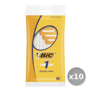 Set 10 BIC Classic 1 Lama r&g x 5 Pezzi Prodotti per Rasatura