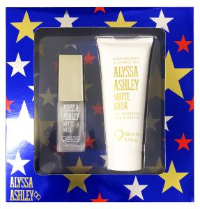 ALYSSA ASHLEY Confezione regalo white musk eau de toilette 15ml + corpo 100ml