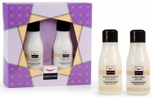 AQUOLINA Confezione regalo colorful moment cioccolato bianco bagno + latte corpo