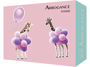 ARROGANCE Idea Regalo Femmina Eau De Toilette 667183 Profumo 150 ml