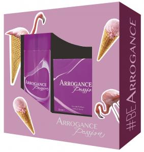 ARROGANCE Idea Regalo Passione Eau De Parfum Deodorante 807182 Profumo 150 ml