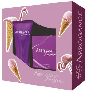 ARROGANCE Idea Regalo Passione Eau De Parfum Doccia 807181 Profumo 75 ml