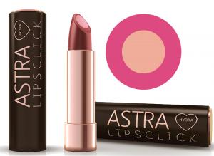 ASTRA Rossetto Idra Lipsclick 01 Think Pink Cosmetico Per le Labbra