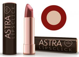 ASTRA Rossetto Idra Lipsclick 03 Coffee Attirude Cosmetico Per le Labbra