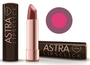 ASTRA Hydra lipsclick 05 poison apple rossetto prodotto cosmetico make up