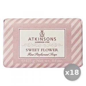 Set 18 ATKINSONS Saponetta  Fiore 125 gr Saponi e Cosmetici