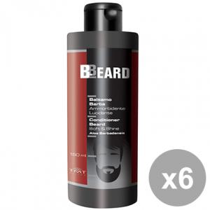 Set 6 BBEARD Balsamo Barba Ammorbidente 150 ml Prodotti Per capelli