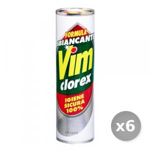 Set 6 VIM Clorex 750 gr Detergenti Casa