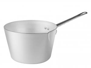 AGNELLI Casseruola Alluminio Conico Family Un Manico Cm 24 Pentola da cucina