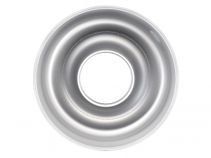 AGNELLI Stampo Ciambella Alluminio Con Tubo 22 cm Pasticceria E Cake Design