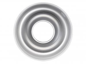 AGNELLI Stampo Ciambella Alluminio Con Tubo 24 cm Pasticceria E Cake Design