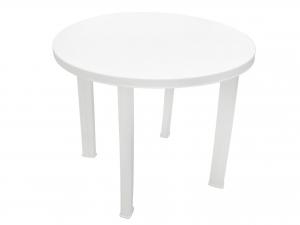 Tavolo in resina Tondo Cm 90 - 3000 Colore Bianco