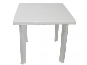 Tavolo in resina Fiocco 80 X 75 Colore Bianco -f036