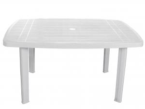 Tavolo in resina Faro Ellitt 140 X 90 Colore Bianco