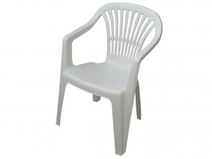 Poltrona Monoblocco Scilla Colore Bianco