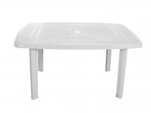 Tavolo in resina Faretto Ellit 100 X 70 Colore Bianco