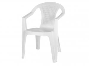 Sedia Monoblocco Atlanta Colore Bianco - 15