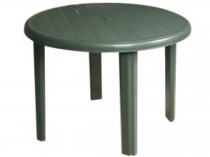 Tavolo in resina Tondo Cm 90 Colore Verde