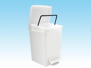 GIGANPLAST Pattumiera in plastica Miniline Colore Bianco 6litri - 4190m