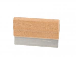 ELETTRO C Spatola Per Tagliere Inox Manico In Legno utensile da cucina