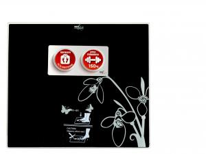 MELCHIONI Bilancia Pesapersone Digitale 150 kg Nera -230011