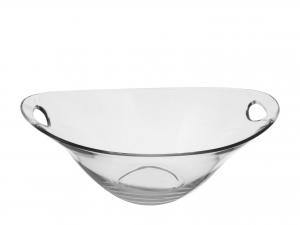 BORGONOVO Set 4 Coppe vetro practica cm 23 Ciotola da cucina