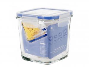 BORGONOVO Contenitore in vetro Superblok Quadrato Alto Cm 11