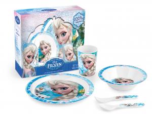 HOME Confezione 5 Pezzi Bimbo Melamina Frozen arredo accessorio bimbo