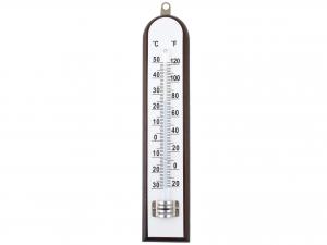 HOME Termometro Interno/Esterno In Legno Scuro complemento arredo casa