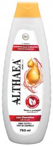 ALTHAEA Shampo cheratina 750 ml prodotto per la cura dei capelli