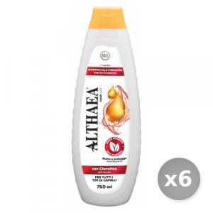 Set 6 ALTHAEA Shampo cheratina 750 ml prodotto per la cura dei capelli
