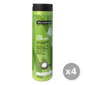Set 4 BLU ORANGE Liss Sublime Shampoo Crespi 200 ml Prodotti Per capelli