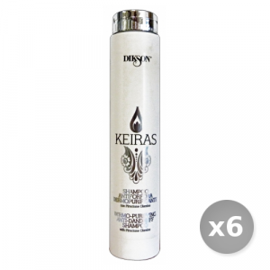 Set 6 DIKSON Keiras shampo anti-forfora 250 ml articolo per capelli