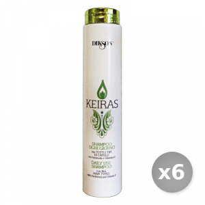 Set 6 DIKSON Keiras shampo ogni giorno 250 ml articolo per capelli