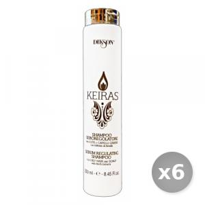 Set 6 DIKSON Keiras shampo seboregolatore 250 ml articolo per capelli