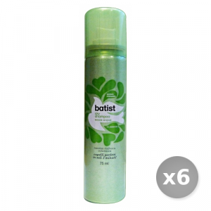 Set 6 BATIST Shampoo Secco 75 ml Classico Prodotti per Capelli