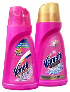 VANISH Gel rosa misto smacchiatore 900 ml prodottto per pulizia delle stoviglie