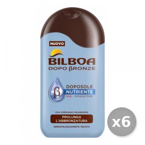 BILBOA Set 6 BILBOA Doposole Nutriente Sos 200 ml - Prodotti Solari