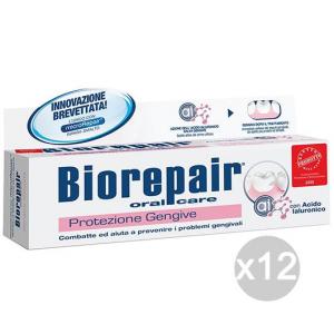 Set 12 BIOREPAIR Dentifricio 75 Protezione Gengive Igiene E Cura Dei Denti