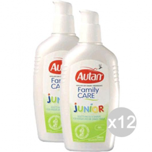 Set 12 AUTAN Family Spray 100 Ml Junior Repellente Insetticida