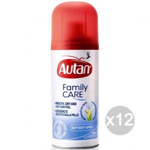 Set 12 AUTAN Family Spray 100 Ml Secco Repellente Insetticida