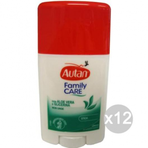 Set 12 AUTAN Family Stick 50 Ml Repellente Insetticida