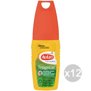 Set 12 AUTAN Tropical Spray 100 Ml Repellente Insetticida