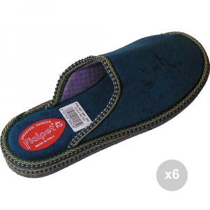 Set 6 FIALPET Ciabatte 200 40 suola in feltro chiuse pantofole da casa