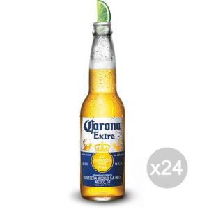 Set 24 CORONA Birra Bottiglia 33Cl Bevanda Alcolica