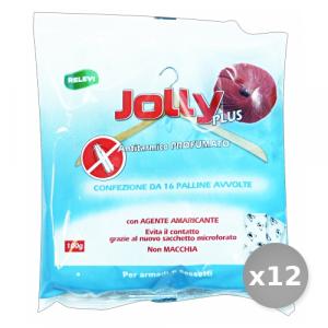 Set 12 Jolly Tarmicida Palline Profumato 100 gr Articoli per Insetti
