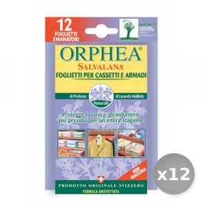 Set 12 ORPHEA Tarmicida Lavanda x 12 Pezzi Articoli per Insetti