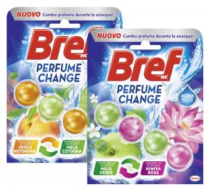 BREF Tavoletta Wc Profumo Change Misto