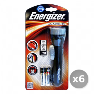 Set 6 ENERGIZER Torcia led con Magnete Elettricit?